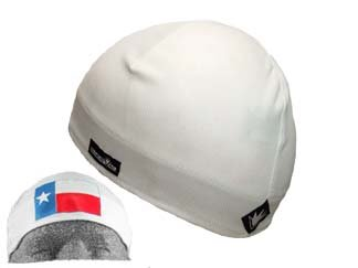 SweatVac Skull Cap Do Wrap - White with Texas Flag - Buy SweatVac Skull Cap Do Wrap - White with Texas Flag - Purchase SweatVac Skull Cap Do Wrap - White with Texas Flag (SweatVac, SweatVac Hats, Womens SweatVac Hats, Apparel, Departments, Accessories, Women's Accessories, Hats)