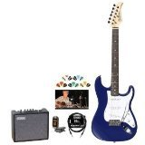 silvertone-ss15-cbl-kit-2-revolver-ss15-cobalt-blue-electric-guitar-with-tuner-cable-pick-sampler-an