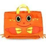 Melissa & Doug Clicker Crab Beach Tote Bag - 1
