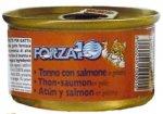 【猫ウェットフード】 フォルツァ10 FORZA10 メンテナンス マグロ&サーモン 85g缶
