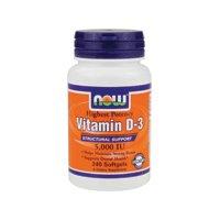 Now Vitamin D-3 5000 Iu - 240 Softgels ( Multi-Pack)