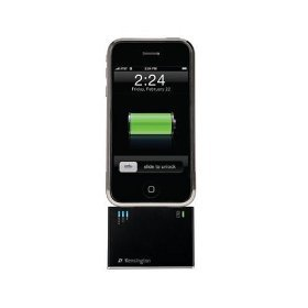 Kensington Mini Battery Extender and Charger for iPod; iPhone 1G, 3G (Black)