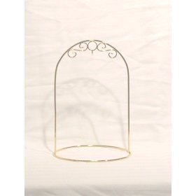 8 Inch Arched Ornament Stand