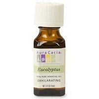 Aura Cacia 100 Percent Pure Eucalyptus Globulus Essential Oil, 5 Ounce -- 6 per case. by AURA CACIA