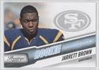 Jarrett Brown #933/999 San Francisco 49ers (Football Card) 2010 Prestige Draft Picks Light Blue #249
