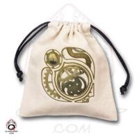 Q-Workshop: STEAMPUNK Dice Bag in Linen