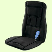 New Conair Bm1rl Body Benefits Heated Massaging Seat Cushion 4 powerful massage motors Heat therapy