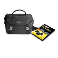 Nikon DSLR Starter Kit with Nikon School Fast, Fun, & Easy DVD Set and DSLR Case