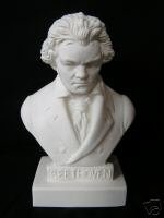 Beethoven Bust Halbe Statuette