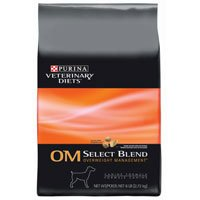 Purina Veterinary Diets OM Select Brand Overweight Management Dry Dog Food 18-lb bag