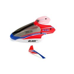Blade Complete Red Canopy with Vertical Fin: mC BLH3518 - 1