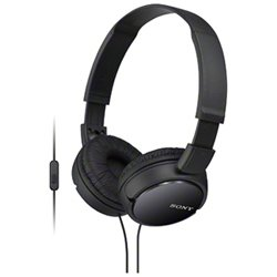 Sony Smartphone Compatible Headphones (Black) Model Number Mdr-Zx110Ap(Japan Import)