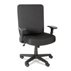 Alera Plus Big and Tall High-Back Task Chair, Black