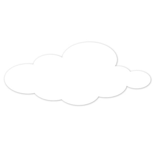 Cloud Stencil For Painting Cloud On The Walls Or Ceiling Of A Classroom Or Bedroom front-997558