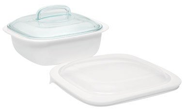 World Kitchen 1078890 SimplyLite 1-1/2 Quart Square Baking Dish (Pack of 2)