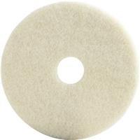 Lundmark Wax: 17 Inches Beige Burnish Pad Tkl17Be 2Pk