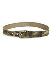 Pure Cotton Square Buckle Camouflage Belt