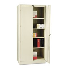 """* 78"""" High Deluxe Cabinet, 36w x 24d x 78h, Putty"""