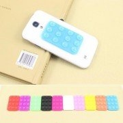 10PCS/Lot Double-Side Suction Cup Anti-Slip Pad Mat Mount for Cell Phone-Mixed Color