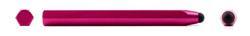 "DURAGADGET Hot Pink Crayon Art Stylus Pen For SANEI n77 Fashion 3D 7 Inch Tablet (Allwinner A13, 8GB HDD, Android 4.0.4, 1.2 GHZ) by LélikTec, Allwinner 7"" Touch Screen Tab (A13 1.0GHz CPU, Android 4.0) AND LélikTec 8.9"" Tab-PC (9 "", A13, Android 4.0.3)"