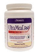 Ultrameal Plus 360 Medical Food Strawberry By Metagenics