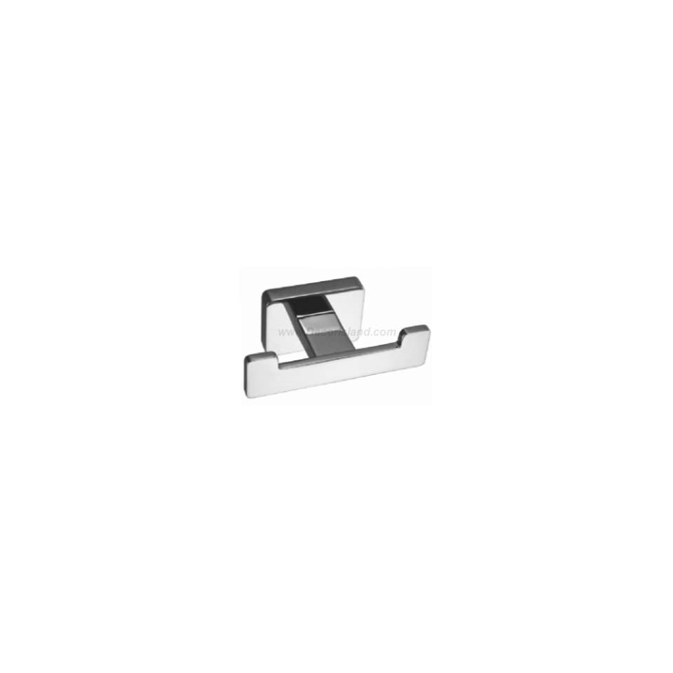 Aquabrass 03508PC Polished Chrome Xchange Single Robe Hook from the Xchange Collection 03508