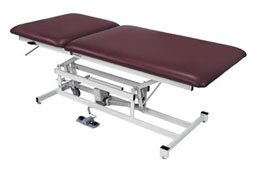 Performa Bariatric Tables Two-Section Color: Imperial Blue - Model 554244