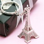 Metal Eiffel Tower Keyring / Charm