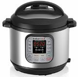Instant Pot IP-DUO60 7-in-1 Programmable Pressure Cooker 6Qt/1000W, Stainless Steel Cooking Pot and Exterior