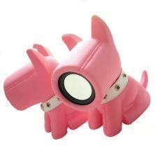 Bow Wow Pink Designer Dog Speakers