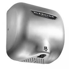 XLERATOR XL-SB STAINLESS STEEL 110/120V 1.1 NOISE REDUCTION NOZZLE HAND DRYER WITH SPEED AND HEAT CONTROL (Xlerator Dryer compare prices)
