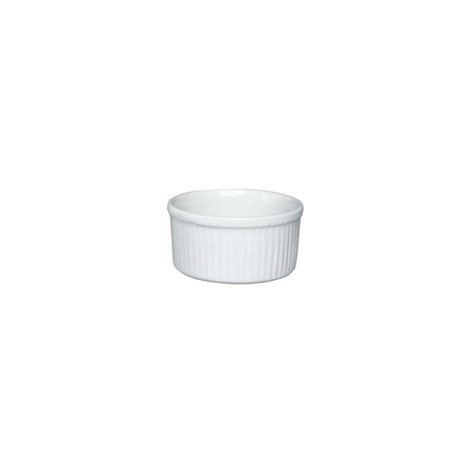 Emile Henry Classic Ramekin   200 mL   White Kitchen