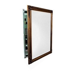 Medicine Cabinet / Mirror / Lights by Afina Corp - SD1626RBSXPGD in Antique Gold