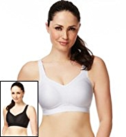 2 Pack Extra High Impact Sports A-G Bras