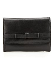 M&S Collection Leather Bow Purse