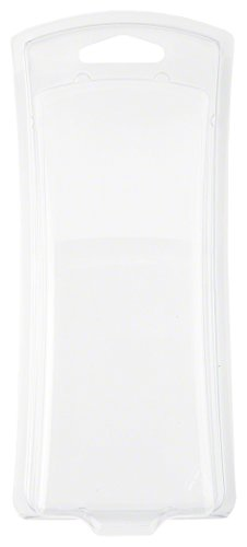 Clear Plastic Clamshell Package, Curved Front, 6.75