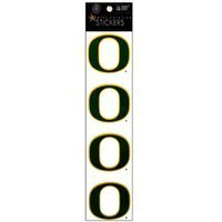 Sports Solution Oregon Ducks Logo Sticker