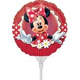 9 Inch Minnie Mouse EZ Air Fill Balloons - 3 Count