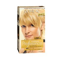 LOreal Paris Superior Preference Fade-Defying Color Plus Shine System 9 1/2 NB Lightest Natural Blonde - 3 Pack