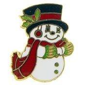 Metal Lapel Pin - Holidays - Christmas - Snowman