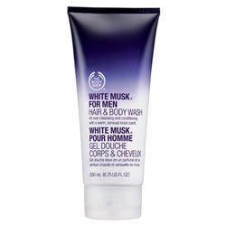 The Body Shop White Musk for Men Hair & Body Wash, 6.75-Fluid Ounce from The Body Shop