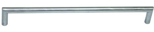 TOP PREIS!! Edelstahl Griff Möbelgriff Schrankgriff Edelstahl massiv mit hochwertiger Bürstung, rostfrei, BLA=288mm