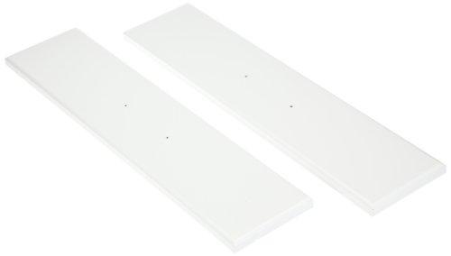 2 Pannelli Frontali Per Scrivania Mira Bianco