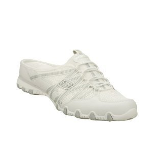 Skechers Bikers Out And About Sneakers Clogs White 7