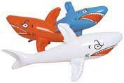 3 Inflatable SHARKS/Shark INFLATES/Party DECORATIONS/DECOR/FAVORS 24""