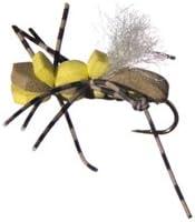 Wetfly Fat Albert - Tan and Yellow Flies 1 Dozen Fly Fishing Flies
