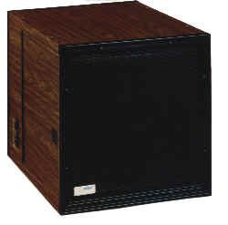 Image of LA-1400S Electronic Air Cleaner - 230v, AC/60Hz/3 amps - Wood Grain (Walnut) Cabinet Finish (LA1402SG)