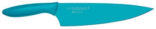 Kai-Pure-Komachi-2-Cuchillo-de-cocinero-color-azul