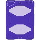 Purple/Lavender Survivor Case + Stand for iPad Air