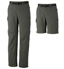Columbia Men's Silver Ridge Convertible Pant, Gravel, 34 x 30 (Columbia Zip Off Pants compare prices)
